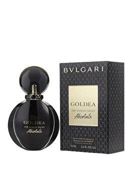 Apa de parfum Bvlgari Goldea The Roman Night Absolute, 75 ml, pentru femei imagine produs