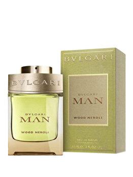 Apa de parfum Bvlgari Man Wood Neroli, 60 ml, pentru barbati imagine produs