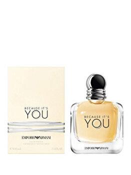 Apa de parfum Giorgio Armani Because It's You, 100 ml, pentru femei imagine produs