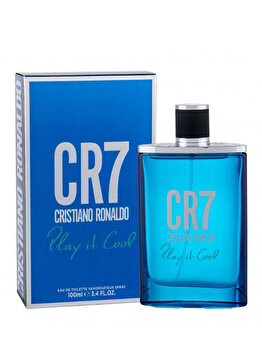 Apa de toaleta Christiano Ronaldo Play It Cool, 100 ml, pentru barbati imagine produs