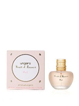 Apa de toaleta Emanuel Ungaro Fruit d'Amour Pink, 50 ml, pentru femei imagine produs