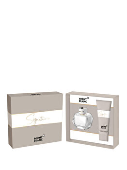 Set cadou Mont blanc Signature (Apa de parfum 50 ml + Lotiune de corp 100 ml), pentru femei imagine produs