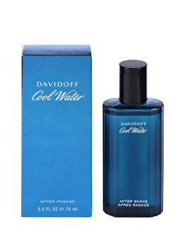 After shave Davidoff Cool Water, 75 ml, pentru barbati imagine produs