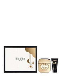 Set cadou Gucci Guilty (Apa de toaleta 50 ml + Lotiune de corp 50 ml), pentru femei imagine produs