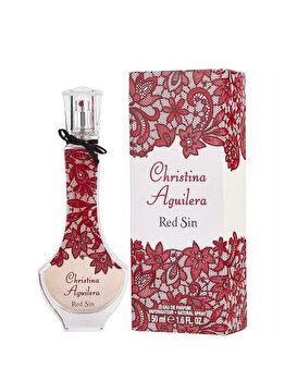 Apa de parfum Christina Aguilera Red Sin, 50 ml, pentru femei imagine