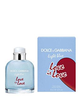 Apa de toaleta Dolce & Gabbana Light Blue Love is Love, 125 ml, pentru barbati imagine produs