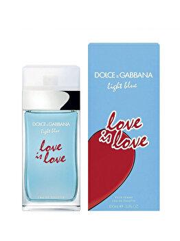 Apa De Toaleta Dolce & Gabbana Light Blue Love Is Love, 100 Ml, Pentru Femei
