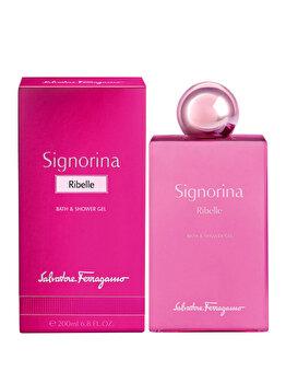 Gel de dus Salvatore Ferragamo Signorina Ribelle, 200 ml, pentru femei poza