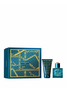 Set cadou Versace Eros (Apa de toaleta 30 ml + Gel de dus 50 ml), pentru barbati imagine produs