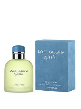 Apa de toaleta Dolce & Gabbana Light Blue, 75 ml, pentru barbati imagine produs