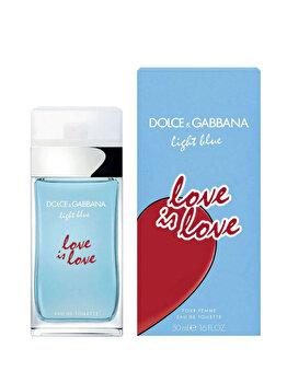 Apa de toaleta Light Blue Love is Love, 50 ml, pentru femei imagine produs