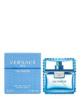 Apa de toaleta Versace Man Eau Fraiche, 50 ml, pentru barbati poza