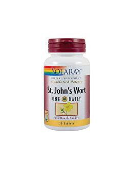 Supliment alimentar Solaray by Secom St. John's Wort (Sunatoare) 900mg 30 tablete de la Solaray by Secom