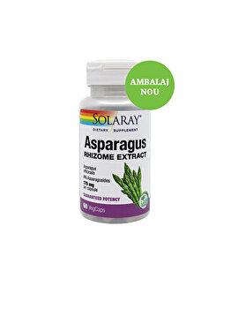 Supliment alimentar Solaray by Secom Asparagus (Sparanghel) 60 capsule vegetale de la Solaray by Secom