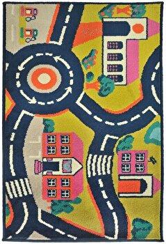 Covor Decorino Copii & Tineret C23-032204, Multicolor, 100x150 cm