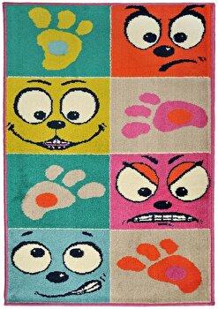 Covor Decorino Copii & Tineret C116-032206, Multicolor, 67x120 cm