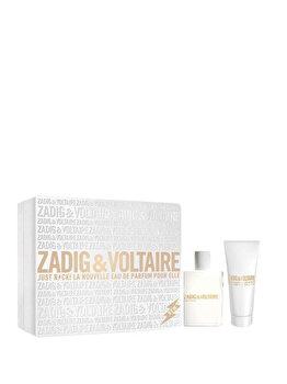 Set cadou Zadig & Voltaire Just Rock! (Apa de parfum 50 ml + Lotiune de corp 100 ml), pentru femei imagine produs