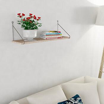 Raft de perete Decormet, din melamina 100 procente, 72 x 20 x 20 cm, 775DCM1611 imagine