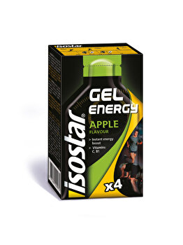 ISOSTAR ENERGY GEL APPLE 4X35g