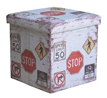 Taburet pliabil, Heinner, HR-FLD38-STOP imagine