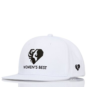 Snapback Cap - White / Black de la Women's Best