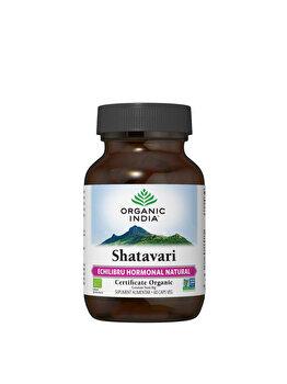 Supliment alimentar natural Shatavari Eco/Bio 60cps veg Organic India de la ORGANIC INDIA