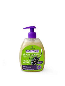 Sapun lichid Cosmetic Fructe de Padure Cosmeplant 400 ml RN poza