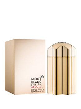 Apa de toaleta Mont blanc Emblem Absolu, 100 ml, pentru barbati imagine produs