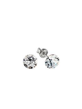 Cercei e-Crystal din Argint 925 placat cu rodiu cu cristale Swarovski CXIS643 elefant imagine 2021