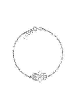 Bratara e-Crystal din Argint 925 placat cu rodiu si charm Hamsa BSHAMSA elefant imagine 2021