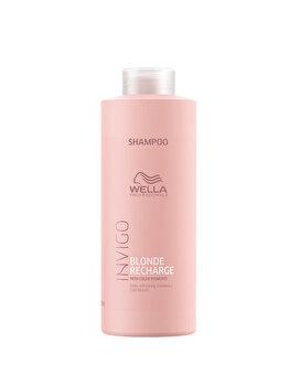 Sampon pentru improspatarea culorii Wella Professionals Invigo Color Recharge Cool Blond, 1000 ml poza