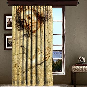 Perdea Cipcici, 785CPC6118, poliester 100 procente, 140 x 260 cm imagine