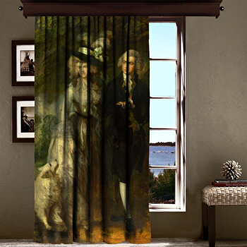 Perdea Cipcici, 785CPC6129, poliester 100 procente, 140 x 260 cm imagine