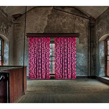 Perdea Cipcici, 785CPC8151, poliester 100 procente, 140 x 260 cm imagine