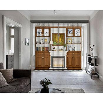 Perdea Cipcici, 785CPC9108, poliester 100 procente, 140 x 260 cm