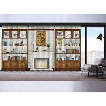 Perdea Cipcici, 785CPC9150, poliester 100 procente, 140 x 260 cm imagine