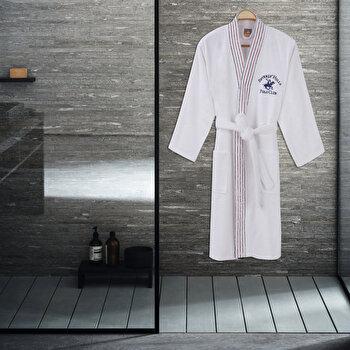 Halat de baie pentru barbati Beverly Hills Polo Club, 355BHP1701, bumbac