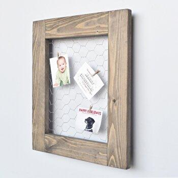 Panou Evila Originals, 792EVL1733, lemn masiv 100 procente, 36 x 42 x 4 cm imagine