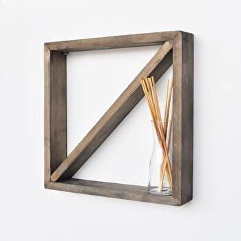 Raft Evila Originals, 792EVL1737, lemn masiv 100 procente, 33 x 33 x 6 cm