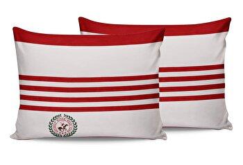 Set fete de perna Beverly Hills Polo Club, 176BHP0121, bumbac 100 procente, 2 piese, 50 x 70 cm