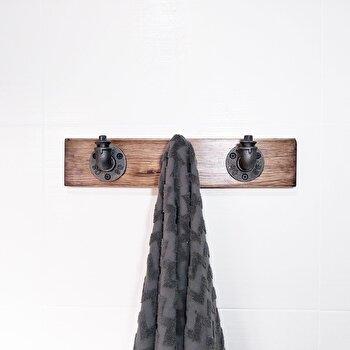 Cuier Evila Originals, 792EVL2611, lemn masiv 100 procente, handmade, 30 x 9 x 11 cm imagine