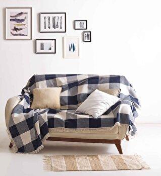 Cuvertura pentru canapea EnLora Home, 162ELR7204, bumbac 100 procente, 180 x 230 cm elefant