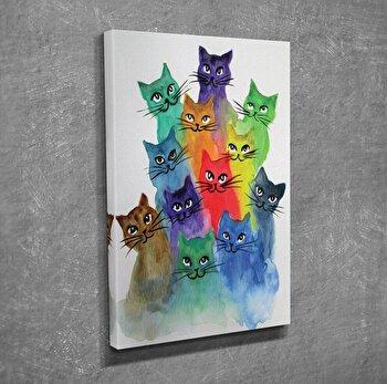 Tablou decorativ Majestic, 257MJS1362, canvas 100 procente, 30 x 40 cm imagine