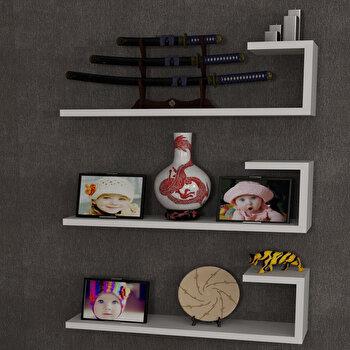 Raft de perete Furny Home, 756FRN1604, pal melaminat, 60 x 18 x 14.5 cm imagine