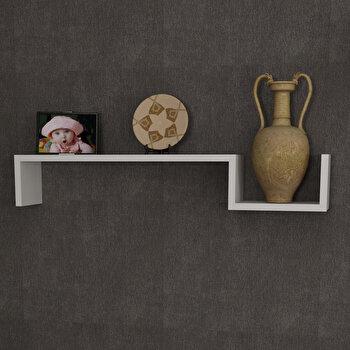 Raft de perete Furny Home, 756FRN1606, pal melaminat, 87.5 x 14.5 x 14.5 cm imagine