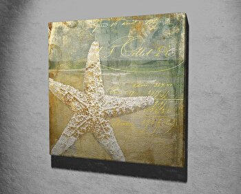 Tablou decorativ Majestic, 257MJS1383, canvas 100 procente, 45 x 45 cm imagine