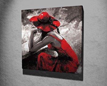 Tablou decorativ Majestic, 257MJS1416, canvas 100 procente, 45 x 45 cm imagine