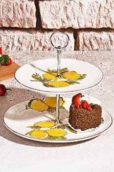 Platou pentru servire Kosova, 430KSV0303, ceramica 100 procente, 20 x 20 cm imagine 2021