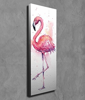 Tablou decorativ Majestic, 257MJS1428, canvas 100 procente, 30 x 80 cm elefant