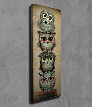 Tablou decorativ Majestic, 257MJS1430, canvas 100 procente, 30 x 80 cm imagine